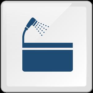 特徴6:シャワー・バスルーム完備