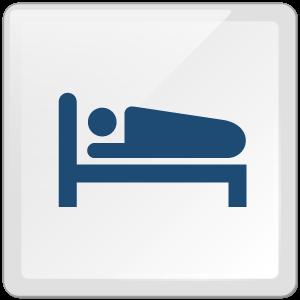 特徴5:宿泊可能